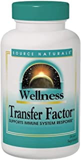Source Naturals Wellness Transfer Factor 125mg - 60 Capsules (Pack of 2)
