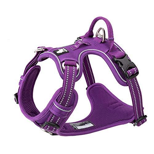 TRUE LOVE TRUELOVE TLH56512 Hundegeschirr, reflektierend, verstellbar, komfortable Kontrolle, in brillanten Farben