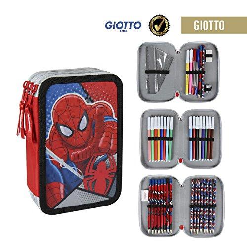 Spider-Man Astuccio Scuola, ampUacutenica, 2700000200, poliestere