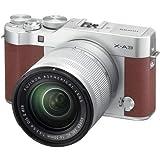 Fujifilm X-A3 Mirrorless Digital Camera with 16-50mm Len (Brown)