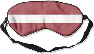 Lead-Do Latvian Flag Comfortable Sleeping Masks Blindfold Eye Shade Cover,Super-Smooth
