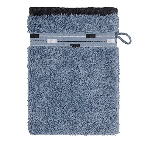 Price comparison product image frottana Magic wash Glove,  made of 100% cotton,  Bluestone,  15 x 20 cm