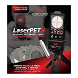 Laser Ammo LaserPet II Electronic Target + SureStrike 9mm Cartridge, Red
