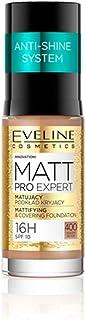 Eveline Matt Pro Expert Mattifying&Covering Fundation No. 400 Warm Beige ,30 ml