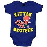 Body bebé parodia hombre araña y superhéroe inmortal Little Brother para...