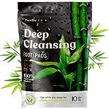 Nuubu Detox Fußpflaster für Stressabbau und Tiefschlaf, 100% natürliche Entgiftungspflaster für Füße mit Bambusessig und Ingwer-Pulver für Entgiftungskur und Reinigung des Körpers
