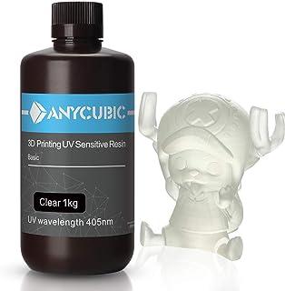 ANYCUBIC Stampate 3D UV Resina 405nm Fotopolimerica Rapida per Photon S Liquido 3D Resin Universale alta Precisione per St...