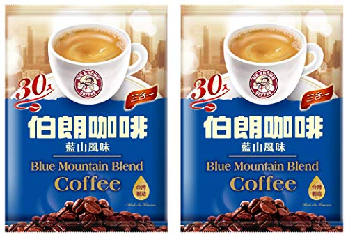 [Pack of 2] 伯朗三合一 Mr. Brown Instant Coffee - 60 Packets (Blue Mountain)