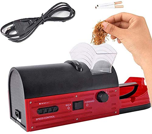 Máquina De Laminación De Cigarrillos Inyector Automático Eléctrico Máquina De Rodillos De Tabaco, Máquina De Laminación De Cigarrillos Top O Matic, Adecuado Para Regalos De Hombres