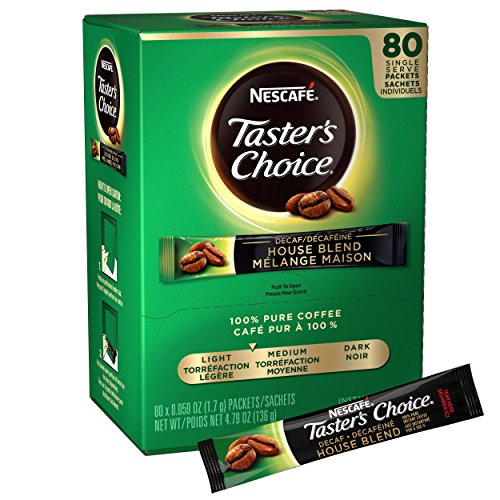Nescafe Taster's Choice Decaf House Blend