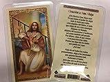 Holy Prayer Cards for San Alejo (St. Alex) in Spanish Set of 2