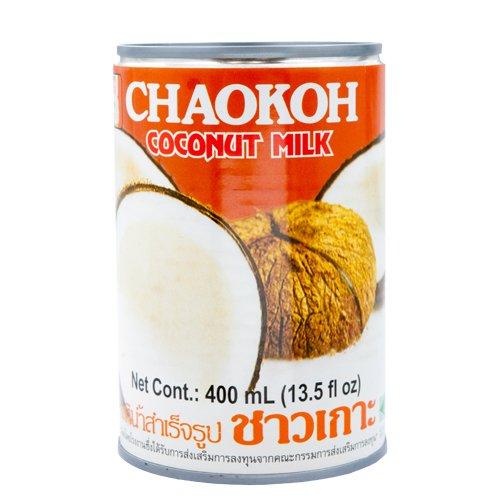 ココナッツミルク タイ産 チャオコー 400ml 6缶 Coconut Milk CHAOKOH 製菓材料 業務用