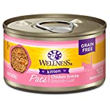 Wellness Natural Pet Food Complete Health Grain Free Canned Cat Food,
