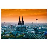 artboxONE Poster 30x20 cm Städte/Köln Fernsehturm Köln