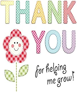 Thank You For Helping Me Grow: Best Thank You Appreciation Gift, Journal Lined Notebook, Exercise Book, Jotter Planner, Composition Book, Keepsake ... (Teachers Appreciation Gifts) (Volume 21)