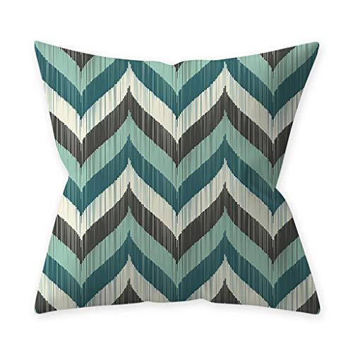 Preisvergleich Produktbild Seguire Dekorative Kissenbezug Kissen Fällen Wurfkissen Geometrischen Druck Kissenbezug Für Sofa Couch Schlafzimmer 18X18 Inch