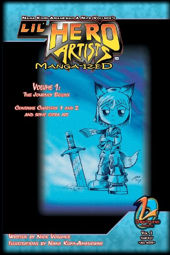 Lil' Hero Artists: Manga-Ized