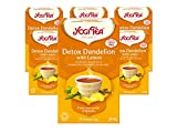 Yogi tea Detox Citron Bio (Pack de 6)