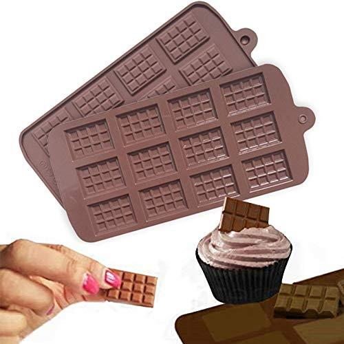 MiaLian Schokoladenform DIY Silikon Backform Backwerkzeuge Geeignet für Kuchen, Brot, Gelees, EIS