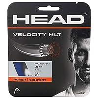 ヘッド [単張パッケージ品] ベロシティMLT Velocity MLT (125/130) 硬式テニス ストリング マルチフィラメントガット 281404 ゲージ:1.25mm ブルー [並行輸入品]