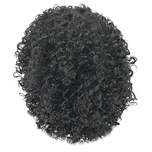 FAMILIZO Pelucas Mujer Pelo Natural Largo Corto Postizos De Pelo Natural Hombres Negro Sintético Peluca Largo Rizado Afro Afroamericanos Pelucas Para Mujeres