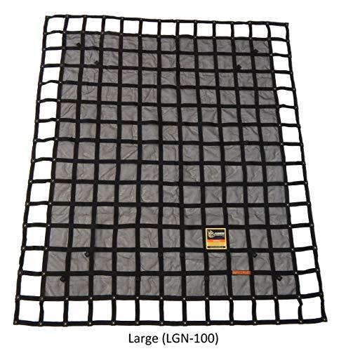 Gladiator Cargo Nets - Heavy Duty Truck Cargo Net - Large (LGN-100) 8.75