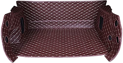ZXCSJ Alfombrilla para Maletero Trasero de Coche para KIA Ceed 2006-2020, revestimientos Impermeables protección del Medio Ambiente Alfombrillas Alfombrillas Antideslizantes, Accesorios automóviles.