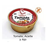 90 monodosis de 25g con tomate ajo y aceite - Para desayunos y tostadas.