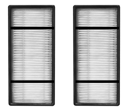 Nispira True HEPA Replacement Filter H Compatible with Honeywell HRF-H2 Fits Air Purifier Model HPA050, HPA150, HPA060, HPA160, HHT055, HHT155, 2 Packs