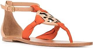 Women's Miller Flat Scarf Sandal Flat Shoes Vachetta Pomander