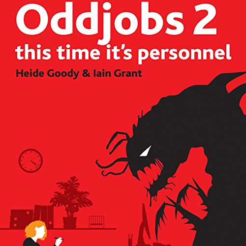 Oddjobs 2 audiobook cover art