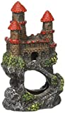 Pen Plax RRW5B Mini Magical Castles Aquarium Ornament, 4'