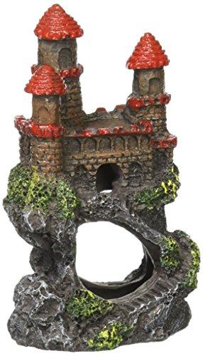 Penn-Plax RRW5B Mini Magical Castles Aquarium Ornament, 4'