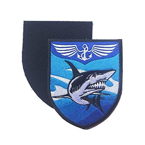 lihe008 Exquisito bordado pegatinas mágicas brazo capítulo militar fascia moral mochila traje sombrero bordado parche (PC 1)