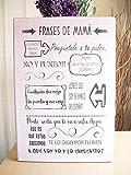 Cartel de Madera Con Frases motivadoras, optimistas, con sentido del humor y citas célebres. Ideas...