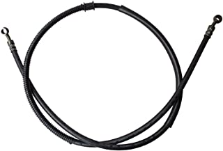 GOOFIT 1550mm Hydraulic Brake Oil Hose Line Pipe for Motorcycle Pit Dirt Bike Enduro Motocross(Black)