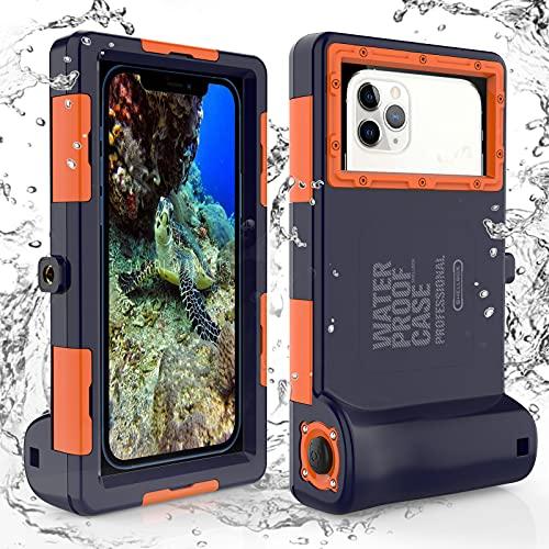 Custodia Impermeabile Smartphone IPX8 Porta custodia cellulare impermeabile 15m Subacquea per iPhone 7 7 Plus 8 8+ X Xs Max XR 11 11 Pro 11 Pro Max 12 12 mini 12 Pro Samsung Galaxy S9+ S10 S10+ S10e