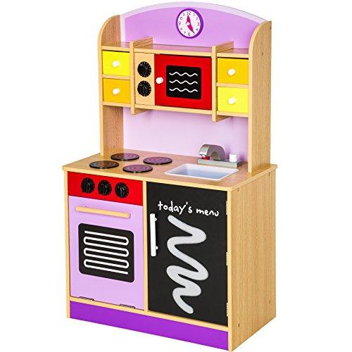 TecTake Cocina de madera de juguete para...