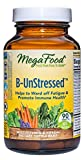 MegaFood, B-UnStressed, Helps Ward Off Fatigue, Multivitamin and Herbal Supplement, Vegan, 90 Tablets