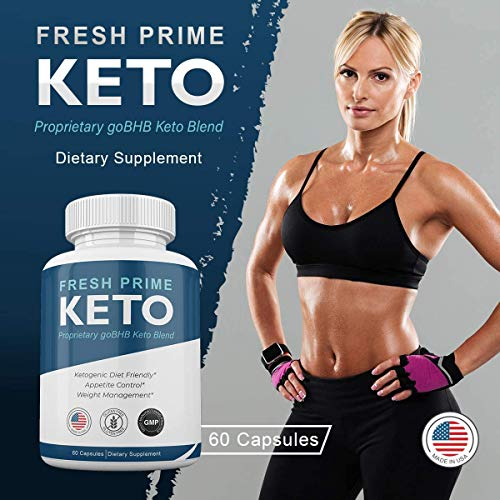 Fresh Prime Keto Pills - Proprietary goBHB Keto Blend - Weight Management - 60 Capsules (1 Month Supply) 2
