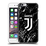 Head Case Designs Oficial Juventus Football Club Negro Mármol Carcasa rígida Compatible con Apple iPhone 6 / iPhone 6s