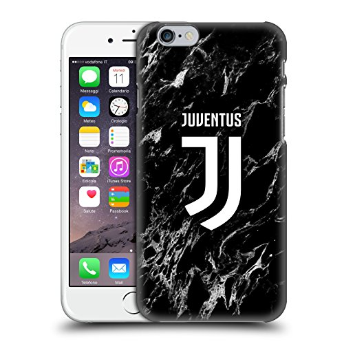 Head Case Designs Ufficiale Juventus Football Club Nero Marmoreo Cover Dura per Parte Posteriore Compatibile con Apple iPhone 6 / iPhone 6s