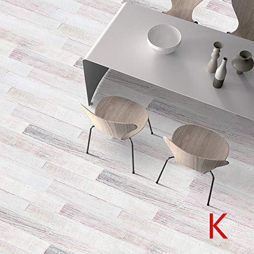 Dapei Bodenaufkleber Küche Selbstklebende Fliesen Kunst Boden Wandtattoo Aufkleber DIY Wohnzimmer Badezimmer Dekor Wandsticker 20x500cm (K)