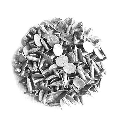 Verzinkte Dachpappen-Nägel 13 mm (Packung 250) - Am Billigsten in UK