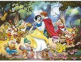 ahjs457 Puzzles 1000 Piezas de Madera Rompecabezas Papel Blancanieves y los Siete enanitos Papel Padre-Hijo * Infantiles Juguetes educativos Amigo Familiar Adecuado