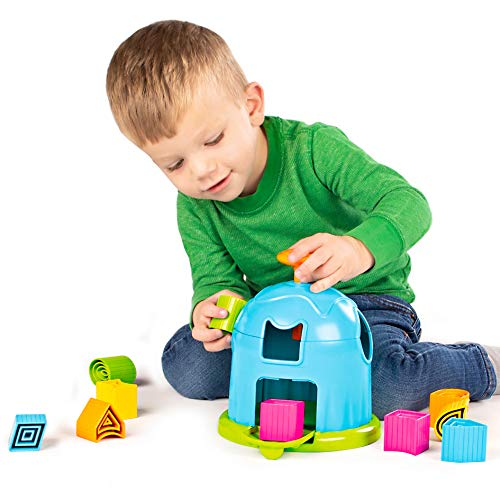 Shape Factory is an educational toy for toddlers