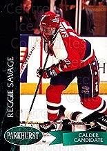 (CI) Reggie Savage Hockey Card 1992-93 Parkhurst (base) 426 Reggie Savage