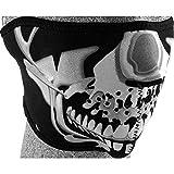 HELLFIRE Gesichtsschoner, Gesichtsmaske Gesichtsmaske 1.0 schwarz, Unisex, Multipurpose,...