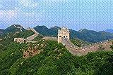 ganjue 1000 Piezas Jigsaw Piezas Jigsaw Puzzle Gran Muralla China Pekín Adultos y niños Juego de Rompecabezas