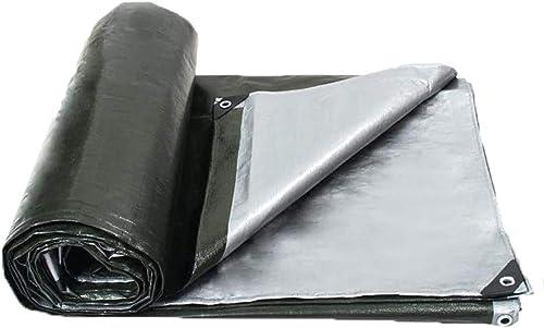 Sarazong épaissir Imperméable Bache Toile d'ombre Feuille de bache Bache Lourde Bache en Toile Faite à 180 grammes mètre voitureré,3  3m